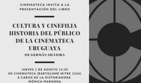 Germán Silveira presenta su libro sobre la Historia del Público de la Cinemateca Uruguaya