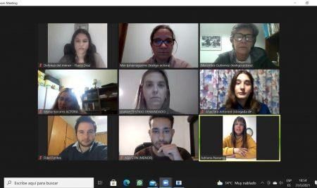 Estudiantes participaron de un proceso judicial simulado