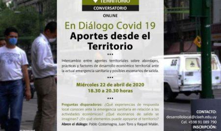 Conversatorio Covid-19: Aportes desde el territorio
