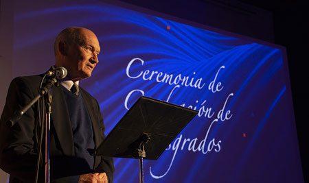 Ceremonia de graduación de posgrados de Educación y Salud
