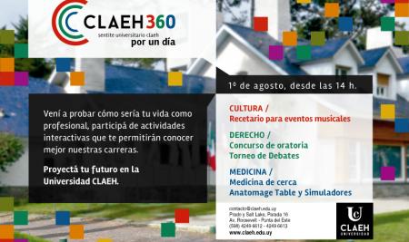 CLAEH 360: sentite universitario por un día