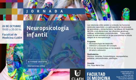 Jornada de Neuropsicología infantil
