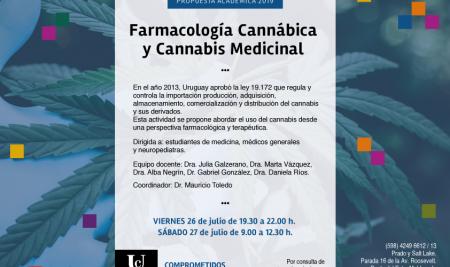 Actividad: uso del cannabis desde una perspectiva farmacológica y terapéutica