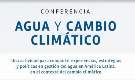 Conferencia: Agua y cambio climático
