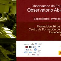 Invitación a participar en el evento del Observatorio de Educación Virtual del MEC