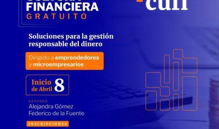 Formación en Cultura Financiera para emprendedores y microempresarios